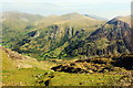 SH6056 : Bwlch Llanberis from the SMR by Jeff Buck