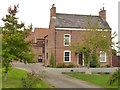 SK7881 : New Farm House by Alan Murray-Rust