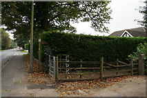 TA2904 : Finger post on Humberston Avenue, New Waltham by Ian S