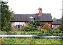 SK1433 : Timber-framed Cottage on Flackets Lane by Jonathan Clitheroe