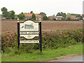 SK7880 : South Leverton village entrance sign by Alan Murray-Rust