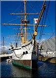 TQ7569 : HMS Gannet 1878 Chatham Dockyard by Peter Skynner
