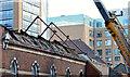 J3373 : Gt Victoria Street Baptist church (demolition) - September 2014(3) by Albert Bridge