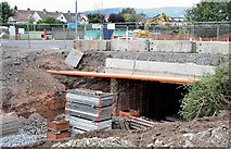 J3673 : Grand Parade culvert improvements, Belfast - September 2014(1) by Albert Bridge