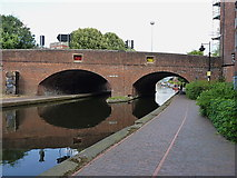 SP0586 : Sheepcote Street bridge, Birmingham Canal Navigations by Richard Law