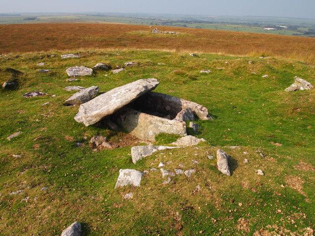 Cairn and Cist, Buttern Hill