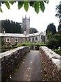 SX2281 : Bridge and Church, Alternun by Chris Andrews