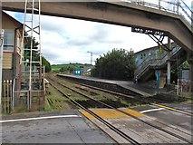 SN3610 : Ferryside station by Gordon Hatton