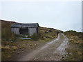SD6249 : Derelict shooting hut, Hareden by Karl and Ali