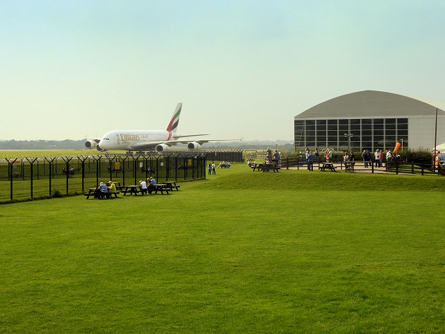 Runway Visitor Park at Manchester Airport