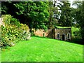 ST7893 : Garden and summerhouse, Newark Park, Ozleworth, Gloucestershire by Brian Robert Marshall
