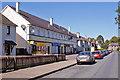 NH6545 : Laurel Avenue shops by Richard Dorrell