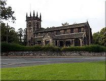 SJ8481 : Church of St Bartholomew, Wilmslow by Jaggery