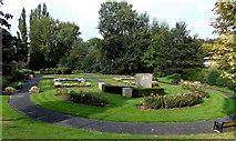 SJ8481 : War Memorial Gardens, Wilmslow by Jaggery