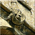 ST9168 : Cheeky grotesque, Church of St Cyriac, Lacock, Wiltshire by Brian Robert Marshall