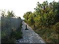 TQ6074 : Pilgrims Road, Swanscombe by Chris Whippet
