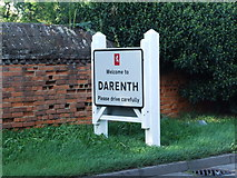 TQ5571 : Darenth village sign by Chris Whippet