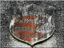 H6155 : Plaque, Orange Hall at Ballynanny by Kenneth  Allen