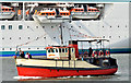 "J3576 : The ""Mona"" Belfast harbour (September 2014) by Albert Bridge"