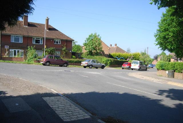 Greggs Wood Rd, Sherwood Rd, junction by N Chadwick