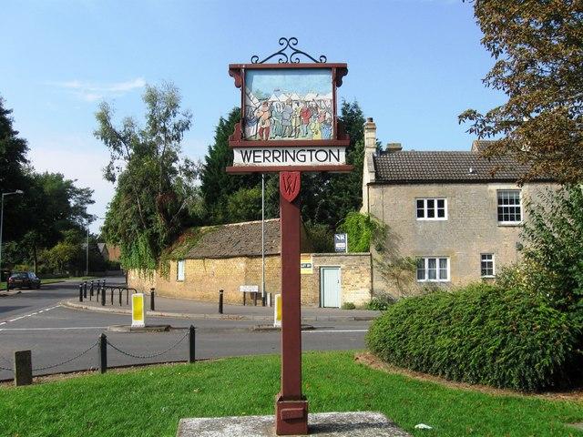Village Sign, Werrington
