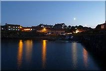 NU2520 : Across Craster Harbour by DS Pugh