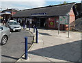 SJ8581 : Main entrance to Wilmslow railway station by Jaggery