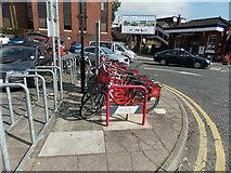SJ8481 : Bike & Go, Wilmslow by Jaggery