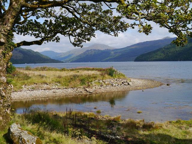 Entering Loch Goil