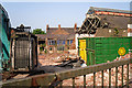 NY4056 : Demolition at the Drill Hall/Swifts Mews redevelopment site by Rose and Trev Clough