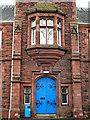 NY4056 : Door, Trinity School by Rose and Trev Clough