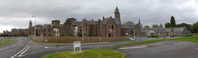 Former Craig Dunain Hospital