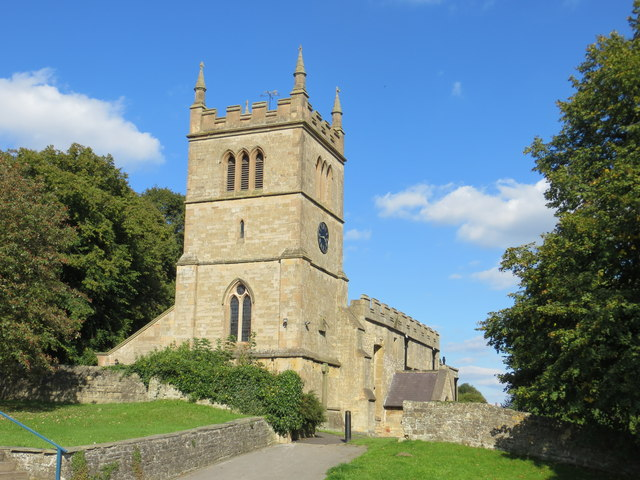The Church of St Leonard at Scarcliffe