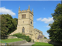 SK4968 : The Church of St Leonard at Scarcliffe by Peter Wood