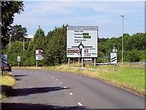 SU6252 : Ringway West, Thornycroft Roundabout by David Dixon