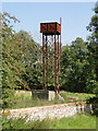 TF7938 : Elegant water tower at Station Farm by Adrian S Pye