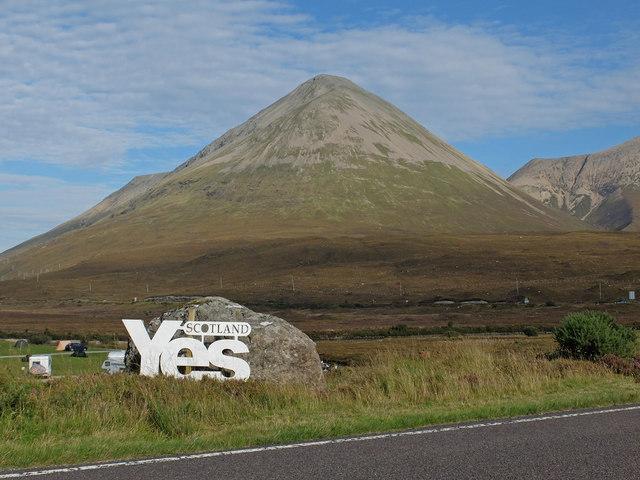 1a1f7f3666 Yes Scotland 2014 © John Allan :: Geograph Britain and Ireland