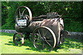 SO0612 : Portable steam engine - Brecon Mountain Railway, Pontsticill by Chris Allen