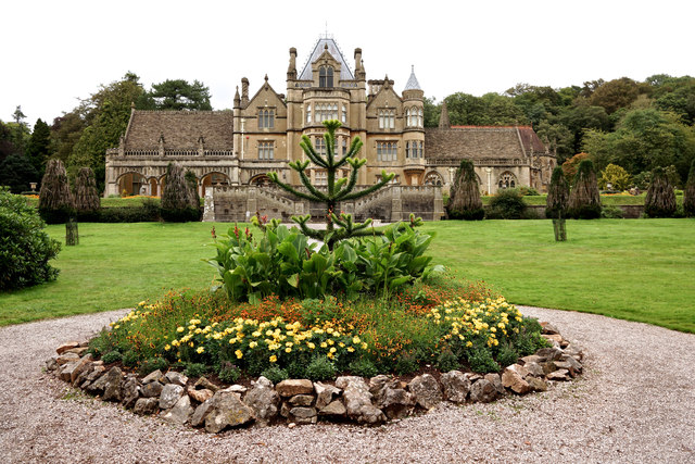Tyntesfield from  the south