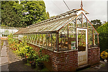 ST5071 : Estate greenhouse by Anthony O'Neil