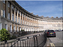 ST7465 : Houses, Royal Crescent, Bath by Robin Sones