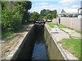 SP9114 : Grand Union Canal: Aylesbury Arm: Marsworth Lock No 1 by Nigel Cox