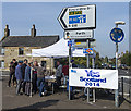 NO1102 : Yes campaigning at Kinross by William Starkey