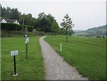 TQ3557 : Footpath to Bug Hill by David Anstiss