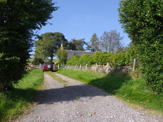 Access to Hawthorn Cottage