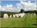 TG2724 : Cemetery at Scottow by Adrian S Pye