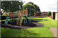 TL1042 : Playground behind the village hall by Philip Jeffrey