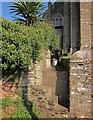 SX8042 : Stile, Stokenham churchyard by Derek Harper