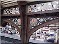 SE5951 : Ironwork, York Railway Station by Robin Sones