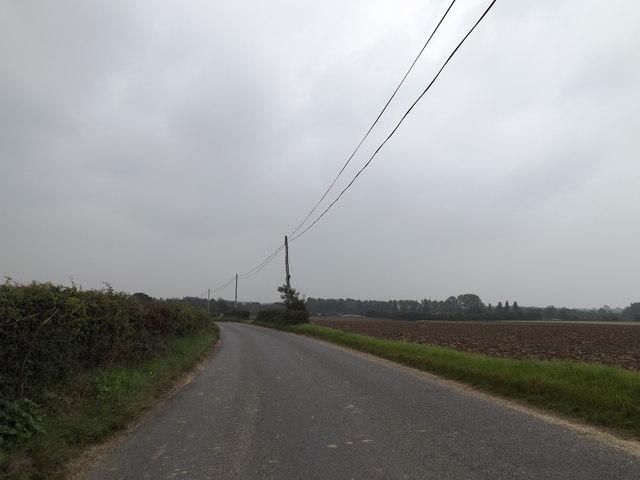 Brooke Road, Kirstead